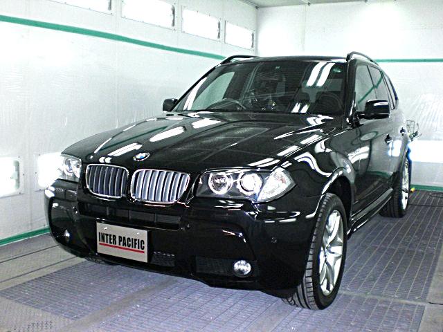 BMW X3 ボディー コーティング